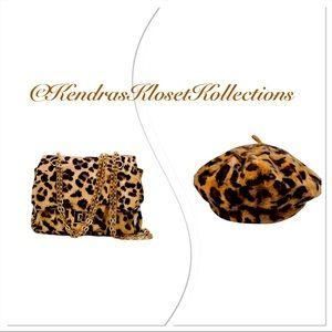 Leopard Beret & Handbag! 🍂🐆😍